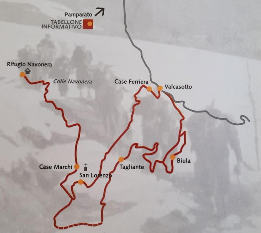 Itinerari partigiani val Casotto Navonera
